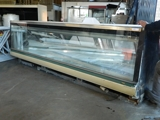 Tyler LVM12 straight glass meat case