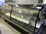 '03 Tyler curved glass meat case NLM8