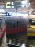 True 2 door stainless steel freezer T35F-$1300