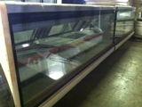 '99 Tyler LVM8 straight glass meat case