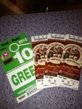 Closed and Sold! Redskins Tickets - Online Auction VA