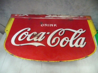 1935 Porcelain Coca-Cola Sign (36&quot; x 60&quot;)
