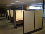 Closed and Sold! SUPER SHORT NOTICE HERMAN MILLER STYLE WORKSTATIONS Online Internet Auction McLean Va