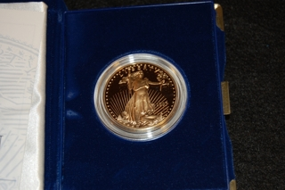 1997 American Eagle $50 One Ounce Gold Coin