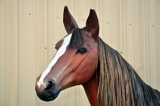 Closed and Sold  Life Size Fiberglass Horse Online Internet Auction in New Cumberland, PA