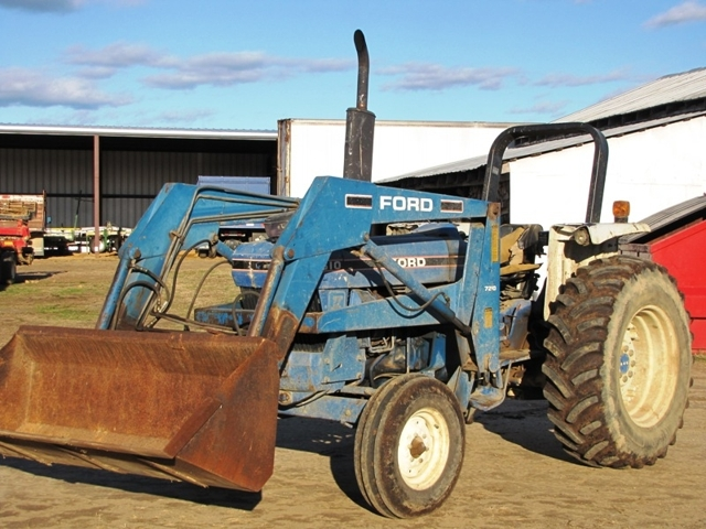 Ford Tractor Front Parts : Ford tractor front end loader parts