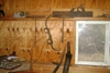 Wood plane, augers, ice tongs: