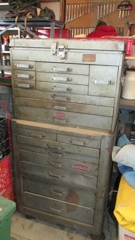 1950's Rolling Craftsman Tool Chest & Cabinet