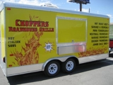 2009 18' Concession Trailer - Fully Self-Contained