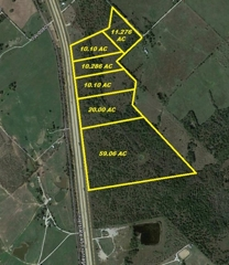 Six I-45 Frontage Tracts – Angus, TX
