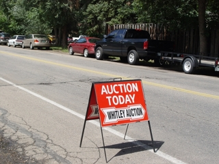 Colorado Auction Company Whitley Auction
