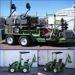 Power Trac Trailer & Attachments: Power Trac PT-2425 4x4 tractor with backhoe, loader and trailer with attachments.