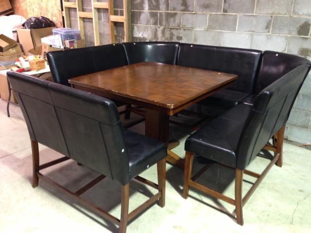 lovely gallery of dining room booth set