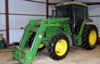 JD 6400 TRACTOR – VEHICLES – 2 HORSE TRAILER – HORSE TACK  - TOOLS