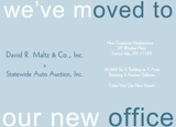 DAVID R. MALTZ & CO., INC. ANNOUNCES EXPANSION & RELOCATION TO CENTRAL ISLIP, NY