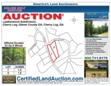 Absolute Auction of 3+/- Acres in Exclusive Mountain Community