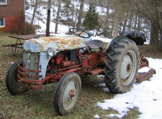1950 8 N Ford Tractor