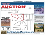 *ABSOLUTE AUCTION* Haralson GA subdivision