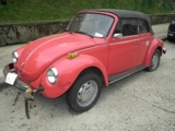 Closed and Sold 1978 VW Bettle Convertible Online Internet Auction Washington DC