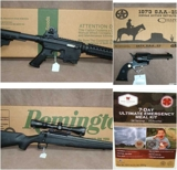 Guns, Ammo, Sporting Goods & Storage Internet Only Auction