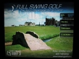 FULL SWING GOLF SIMULATOR- Bar Games/ Home Theater/ Man Cave/ Golf Courses/