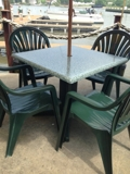 Patio Tables and Chairs Online Internet Auction Md
