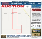 California Land Auction | Online Only Land Auction