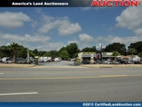 Land Auction Commercial Lots of Warner Robins, Houston County, GA
