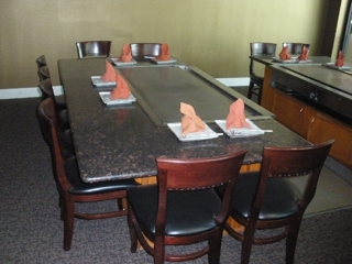 Yiwon Teppan Steak Seafood ONLINE AUCTION R L Spear Co - Teppan table