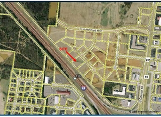 Commercial Lot with interstate visibility
