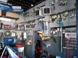 CONTENTS OF AUTOMOTIVE REPAIR SHOP