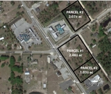 3.51± ac PRIME COMMERCIAL fronting Hwy 218 & 2.07± potential Commercial in MIDDLEBURG, FL