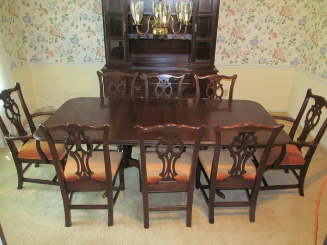 Antique Ethan Allen Dining Room Chairs