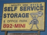 MIGHTY MINI STORAGE AUCTION