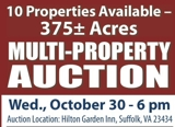 Multi-Property Auction #1 - 10 Properties in Suffolk, VA