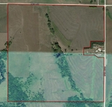 155 acres+/- w/95 tillable acres & bal. in CRP & pasture