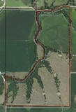 Gage Co, NE: 267 acres +/- of farmground & pasture in 2 tracts