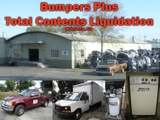 BUMPER REPAIR SHOP LIQUIDATION - BUMPERS PLUS IN MARIETTA