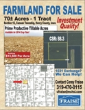 FOR SALE - HENRY COUNTY, IOWA FARMLAND