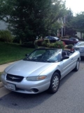 2000 Chrysler Sebring Internet Auction VA