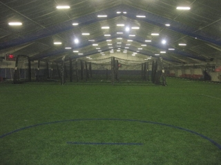38,000+ SQ FT INDOOR SPORTS FACILITY