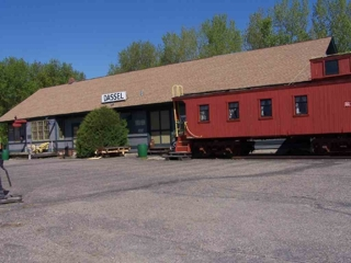 """OLD DEPOT & CABOOSE"""