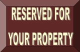 Reserved for Your Property
