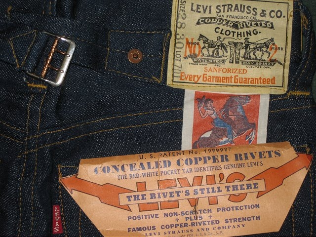 Prime Time Auctions - SOLD!!! Vintage Clothing - Denim, Workwear