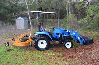 New Holland TC34DA Tractor