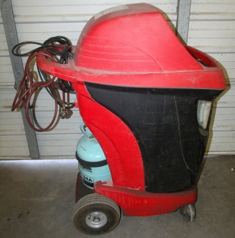 snap on ac recovery machine