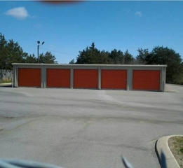 2,700 sq. ft. 12-Unit Mini-Warehouse Bldg
