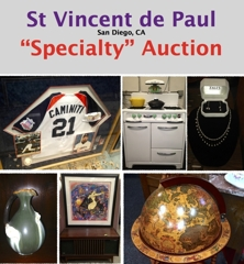 2d6a454ff22 M20059 Time for another great auction of antiques   collectibles from  donations of St Vincent de Paul Villages Artwork-Mid Century Furniture