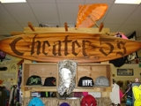 CHEATER 5's SURF & SKATE SHOP ABSOLUTE AUCTION