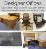 90 Matching Offices Furniture Auction Virginia
